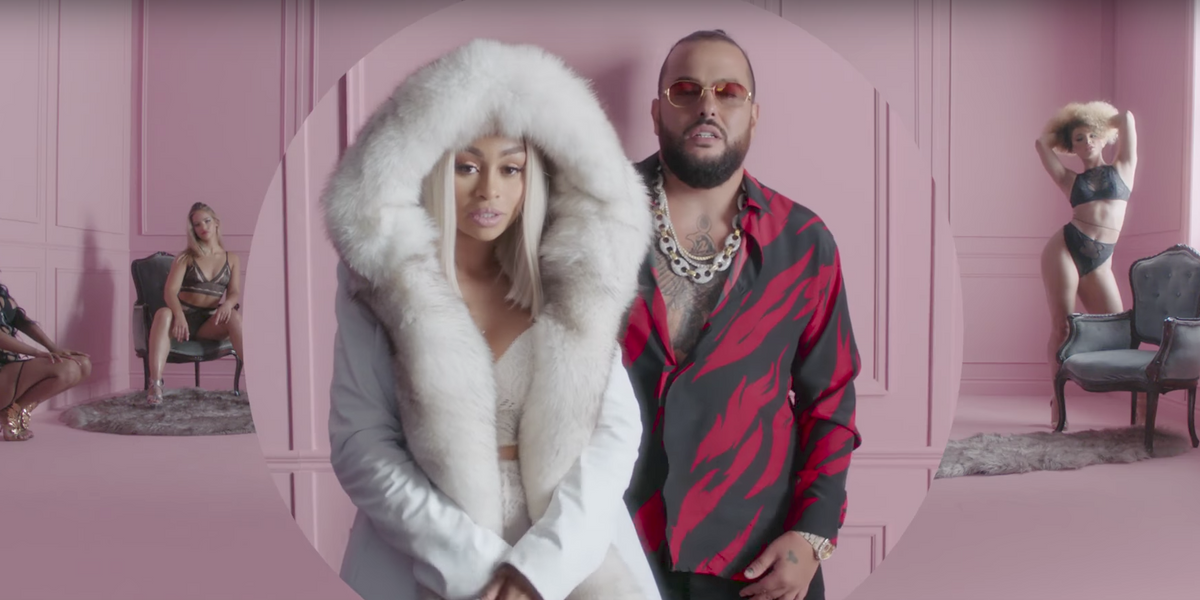 """Of Course Blac Chyna is the Star of Belly's """"Power of P*ssy"""" Video"""