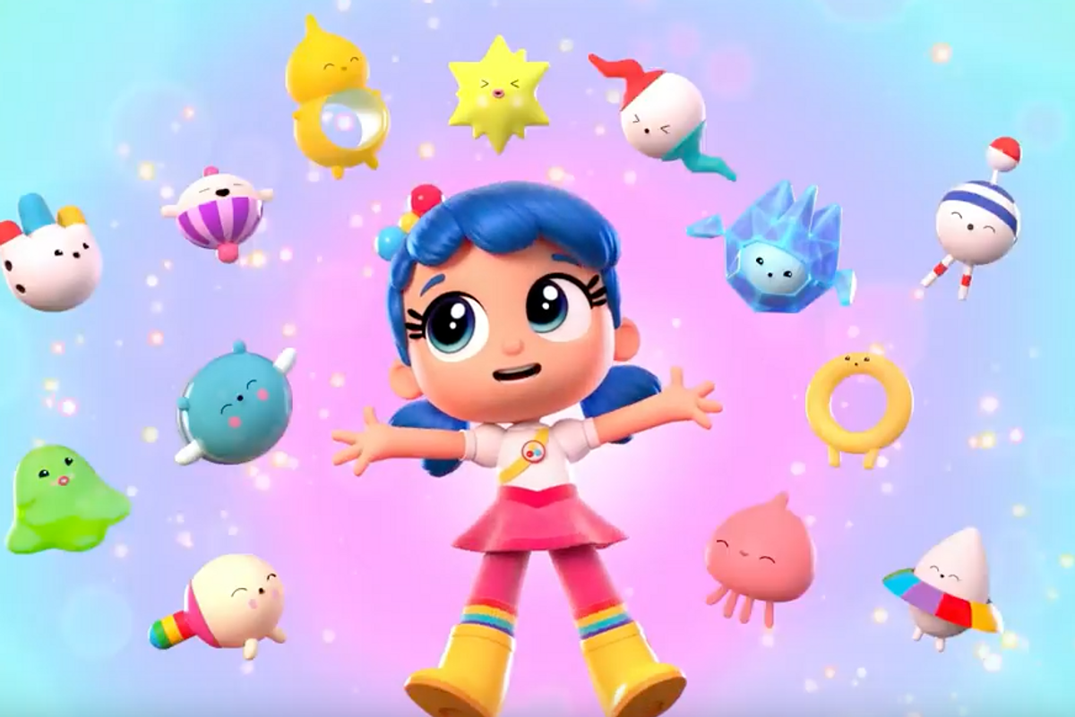 Peep This Rainbow-Trip Kids Show from Artists FriendsWithYou