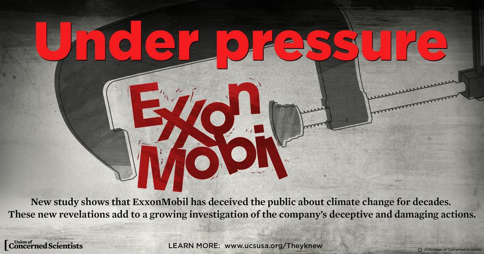 Exxon Attacks New Study That Exposes Its Climate Deception ... Again