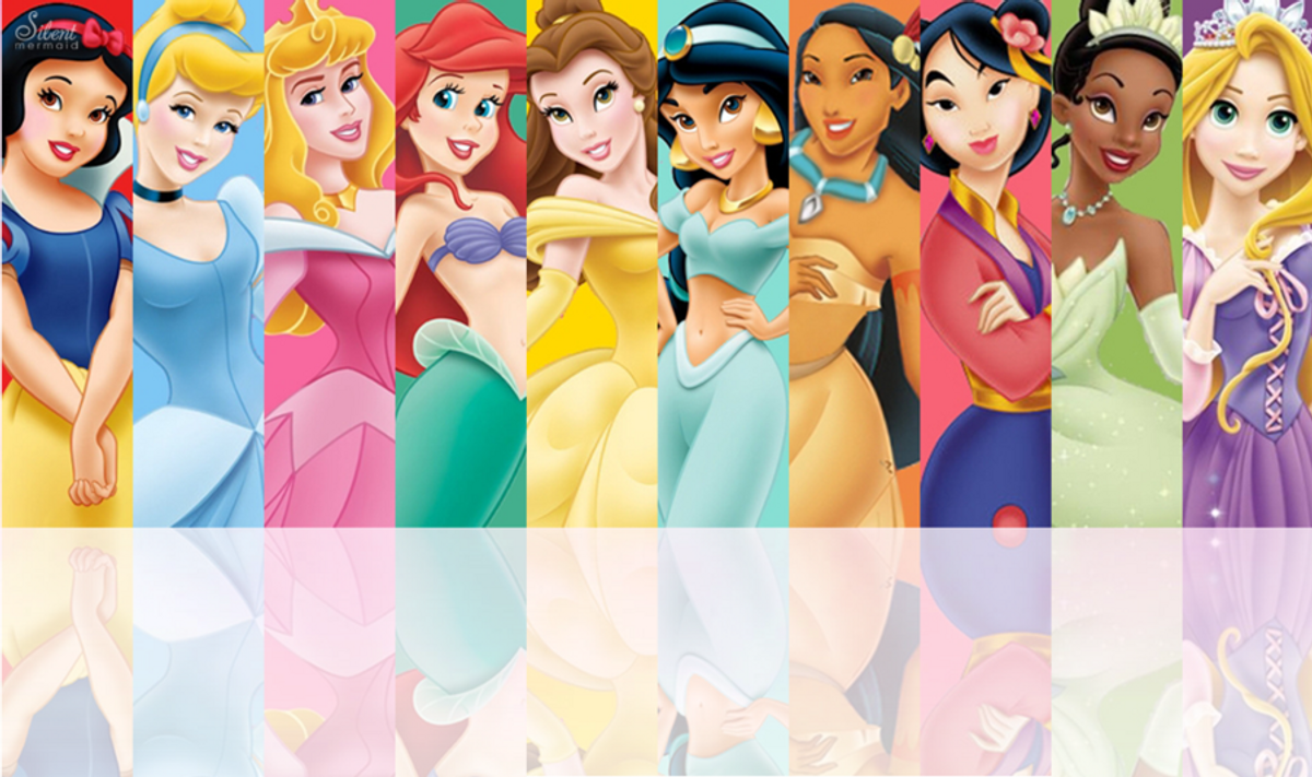 What If All Big 12 Schools Were Disney Princesses?