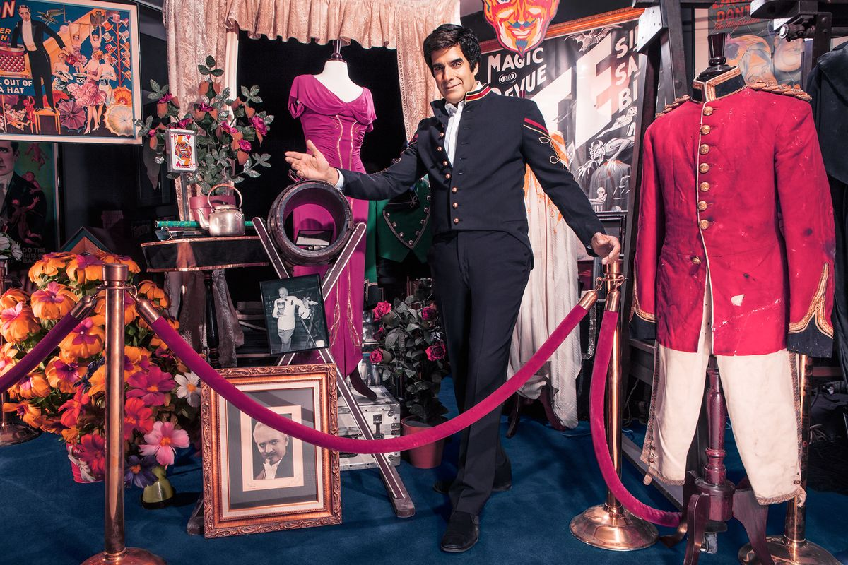 David Copperfield Lets Us Inside His Museum of Magic