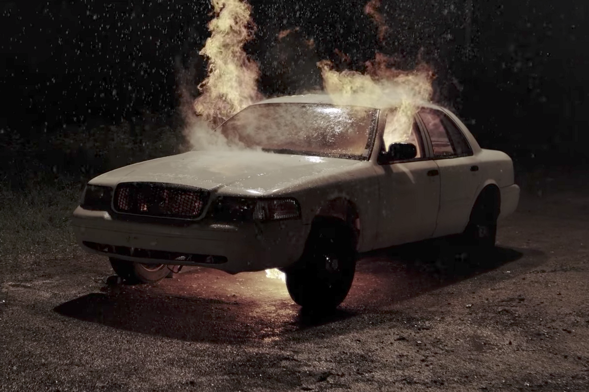 A Hit-and-Run Is Followed by Arson in The Killers' New Video for 'Run for Cover'