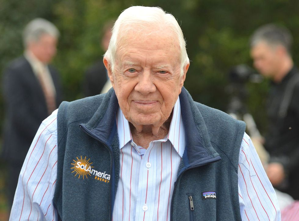 Jimmy Carter Talks Solar Energy
