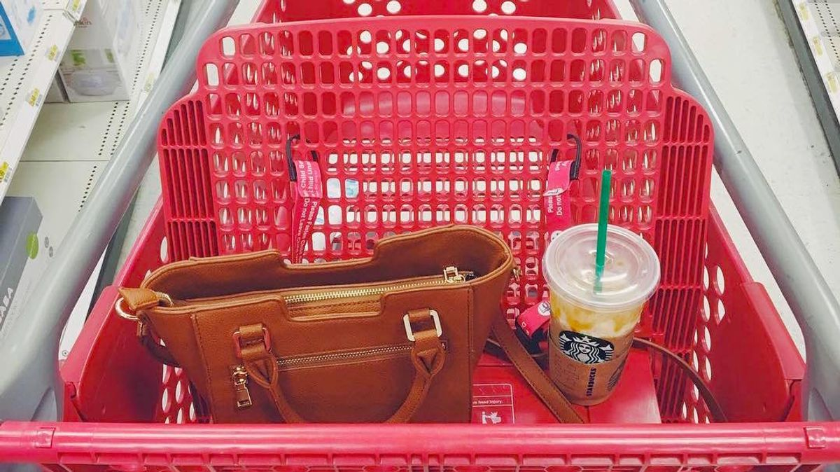 Every Basic Girl's Stream Of Consciousness Shopping At Target