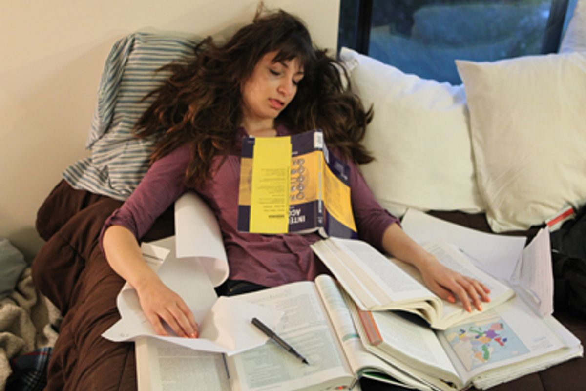Eight Bad Habits of College Students