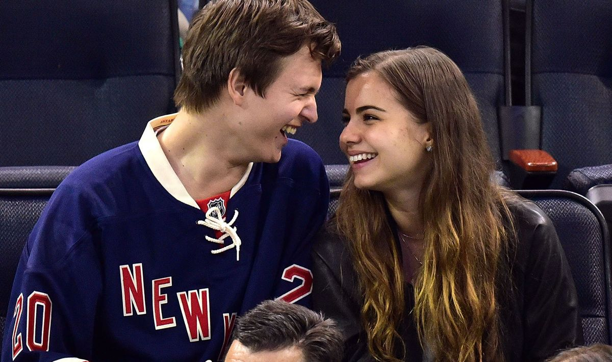 Ansel Elgort And Violetta Komyshan Are Serious Relationship Goals