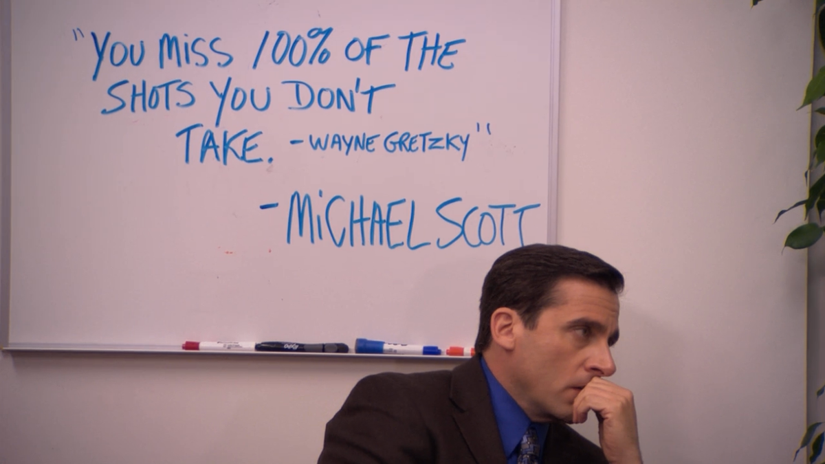 Second Half Of The Semester Problems, As Told By Michael Scott