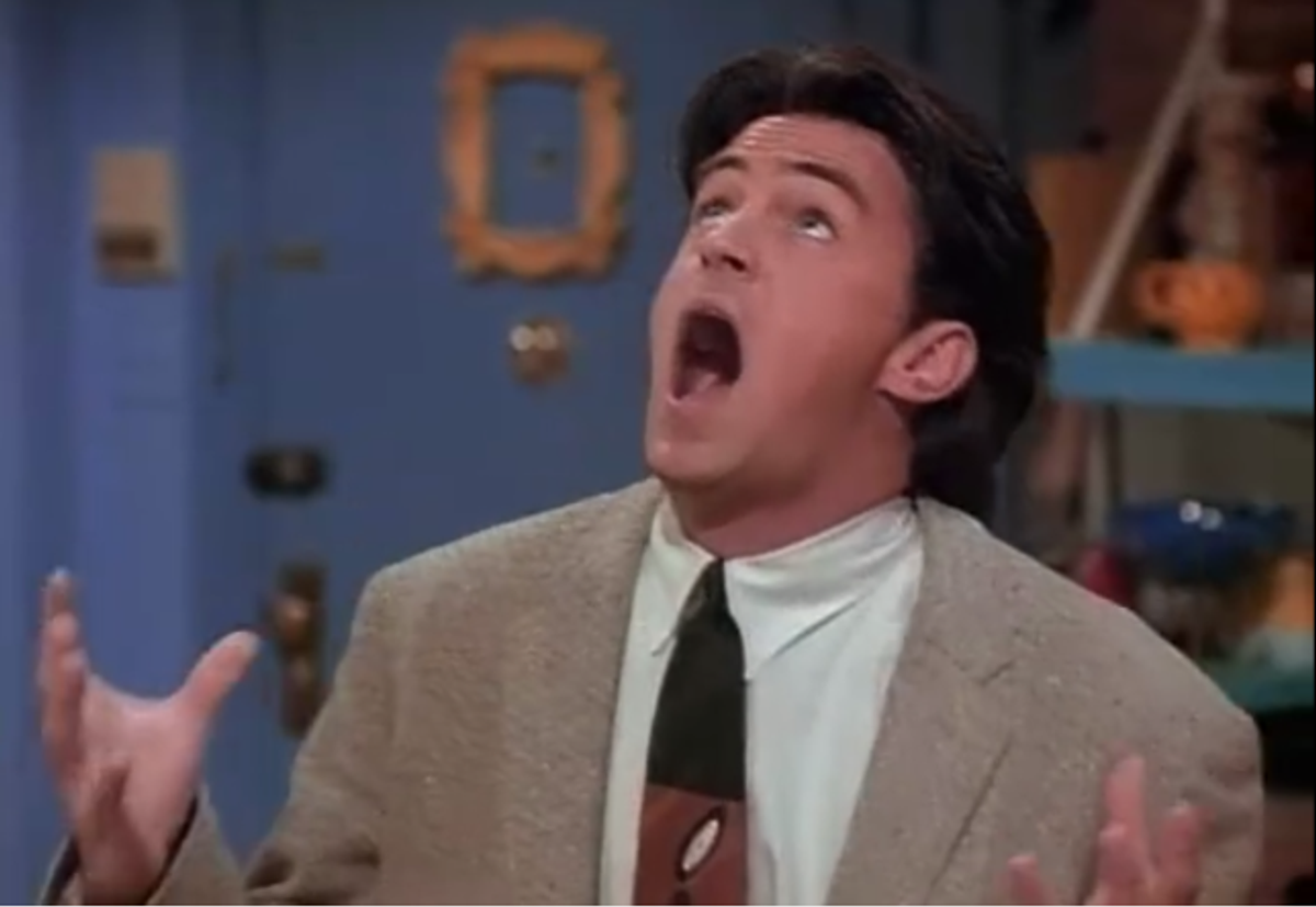19 Times Chandler Bing Described Dating Perfectly