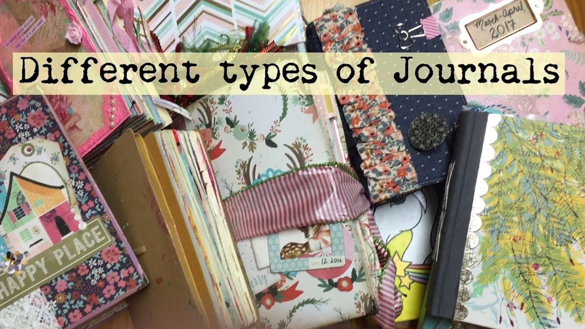 Types of Journals You Can Keep