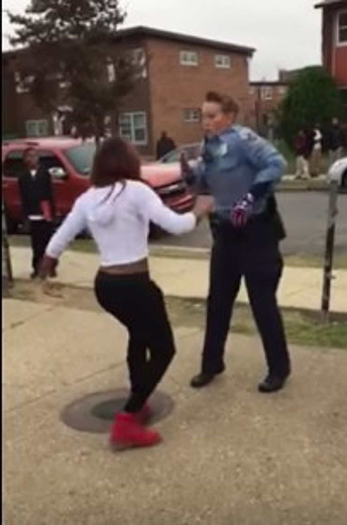 Cops Break Up Fights With Dancing Now