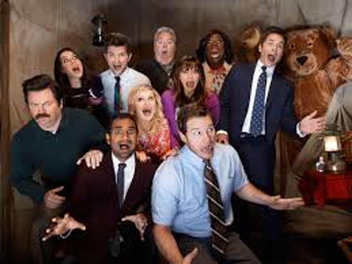 14 Times Parks and Rec. GIFs Described My Freshman Year