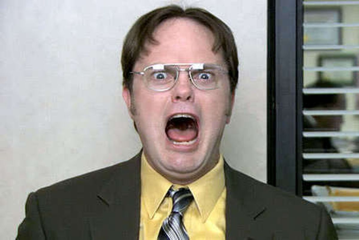 Finals Week As Described By Dwight Schrute
