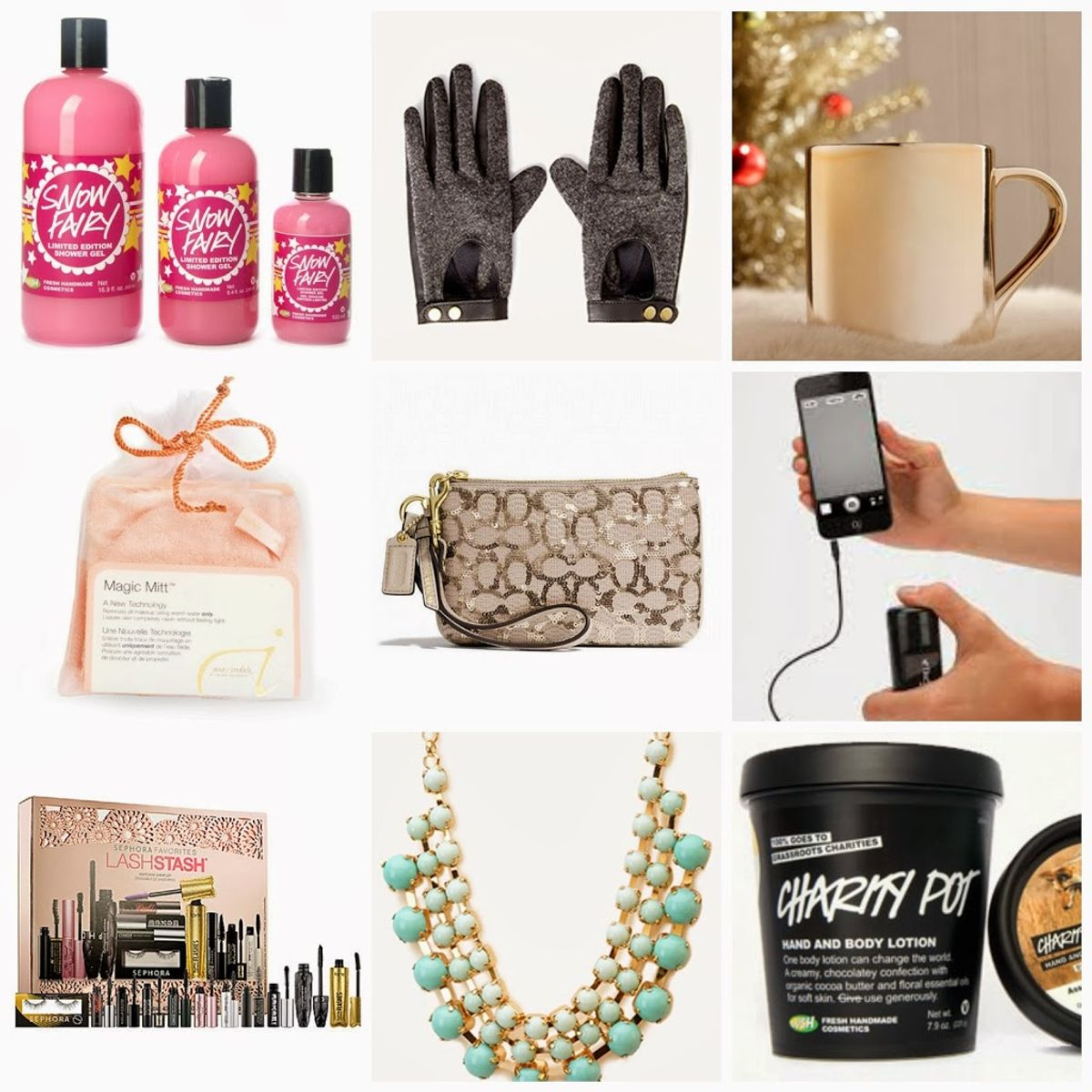 20 Holiday Gifts For Her Under $10