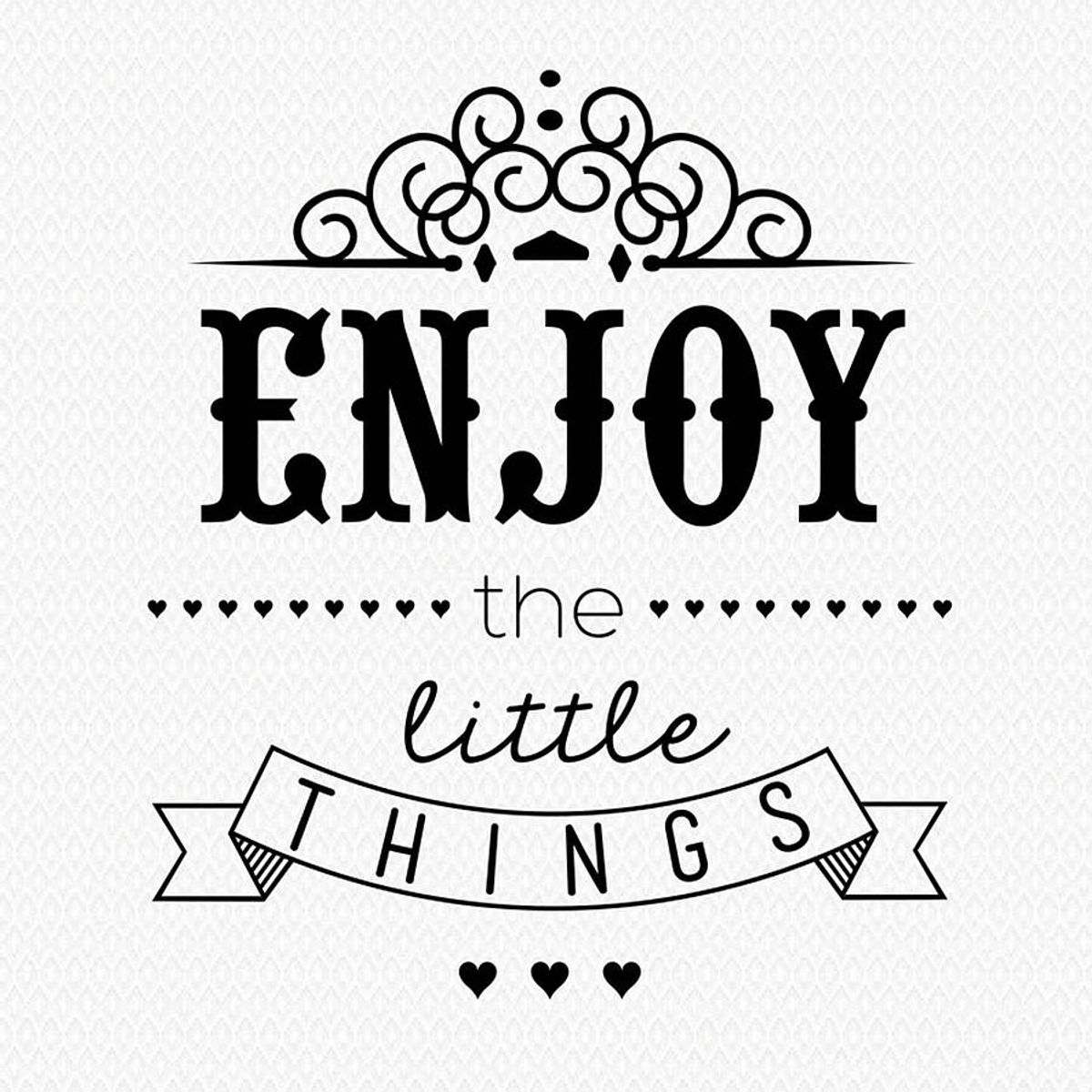 75 Little Things To Be Thankful For
