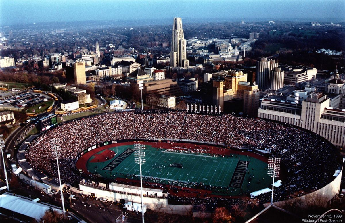 Pitt's Big Mistake: Tearing Down Pitt Stadium