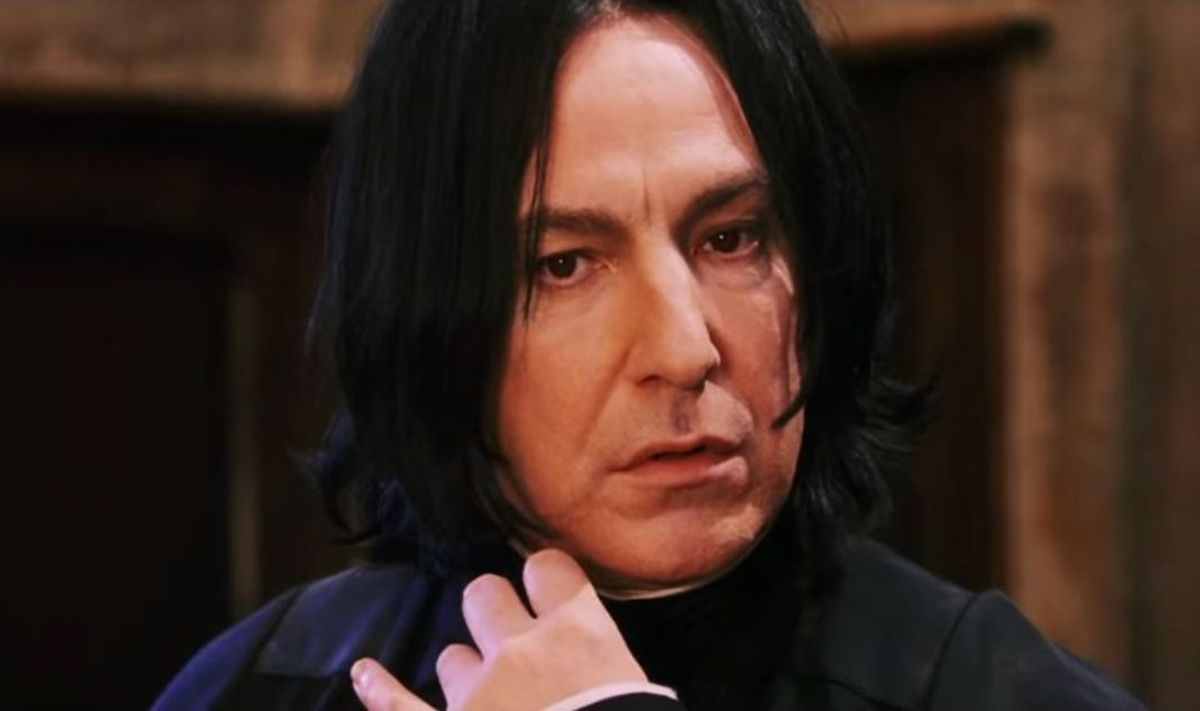 Severus Snape Is Not A Hero