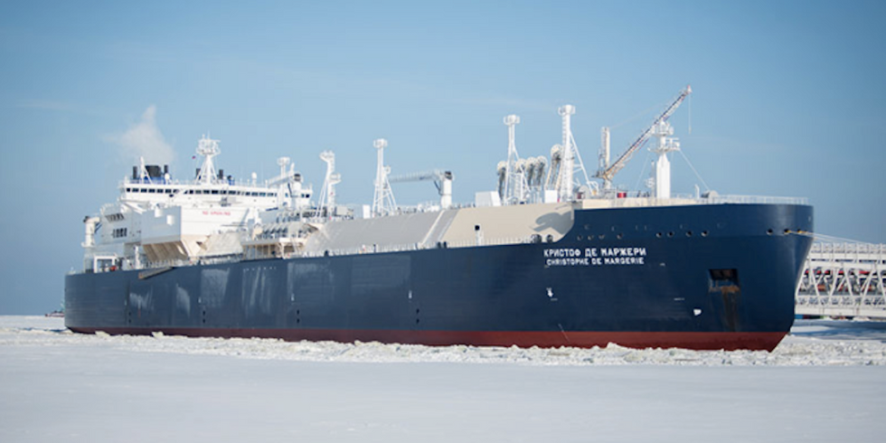 Tanker Crosses Arctic Without Icebreaker for First Time Due to Rapid Melting of Sea Ice