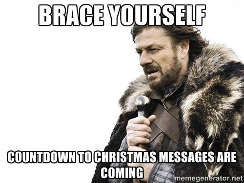How Many Days Until Christmas Meme.How You Know It S Autumn