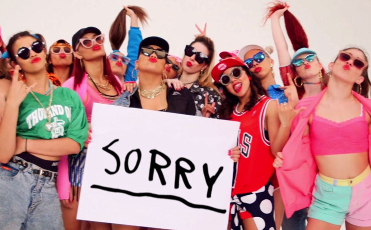 """7 Thoughts During Justin Bieber """"Sorry"""" Dance Video"""