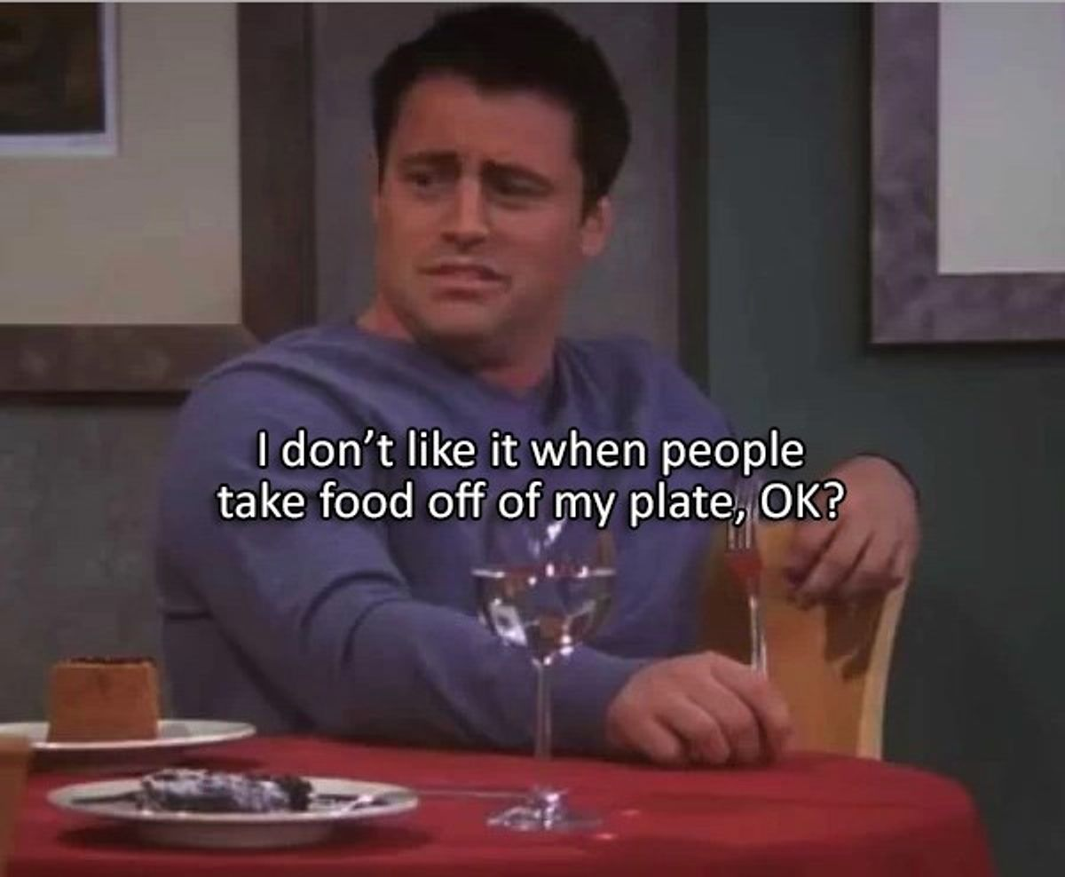 12 Joey Tribbiani Food Moments We Can Relate To