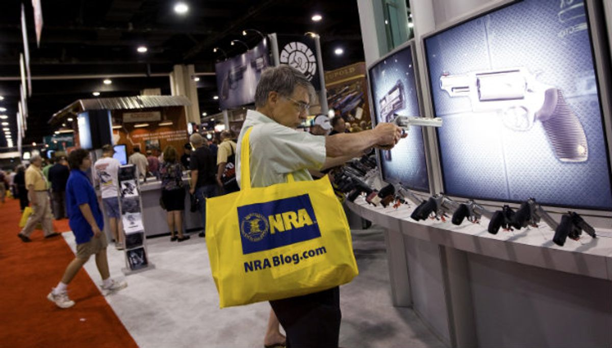 The NRA Is The Root of America's Gun Problem