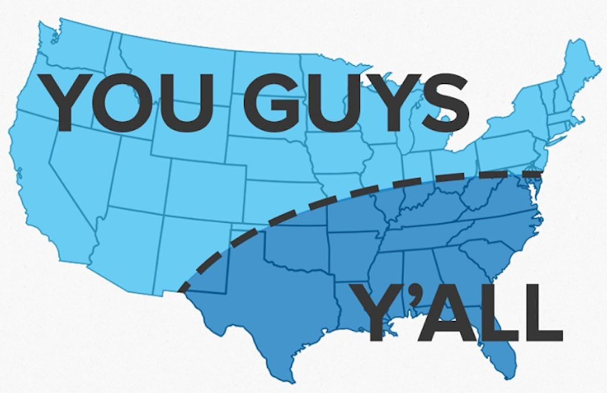 Word Usage: North VS. South