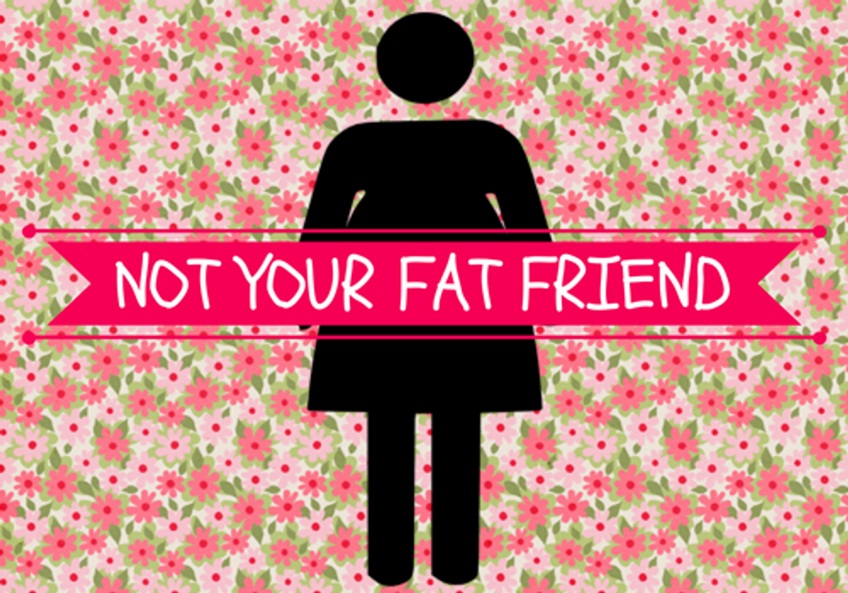 """5 Things You Learned Growing Up As The """"Fat Friend"""""""