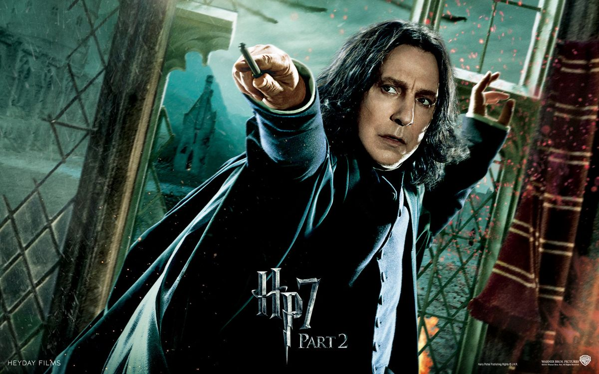 12 Reasons Why Severus Snape Is the Worst Person Ever