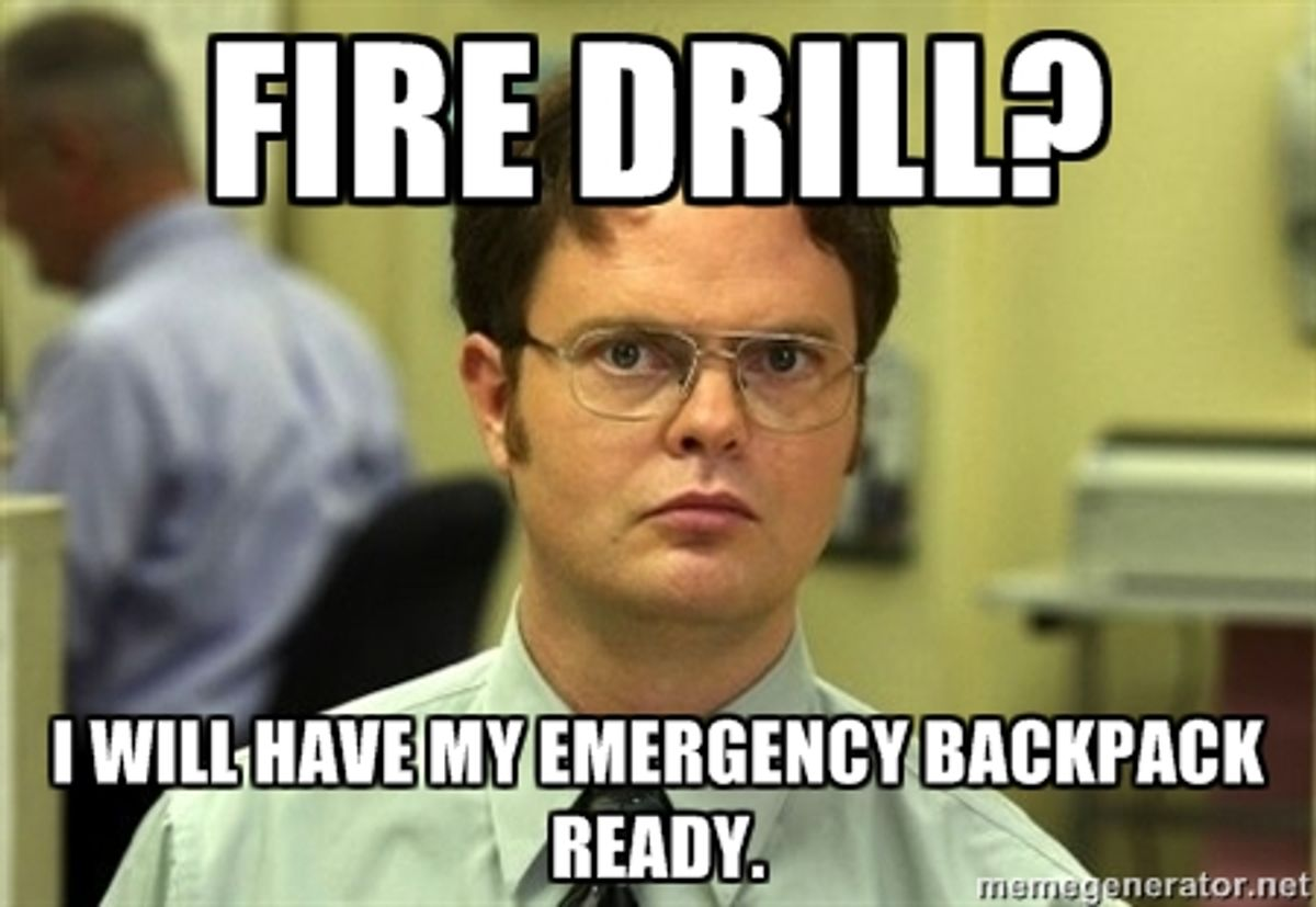 10 Thoughts Everyone College Student Has During A Fire Drill
