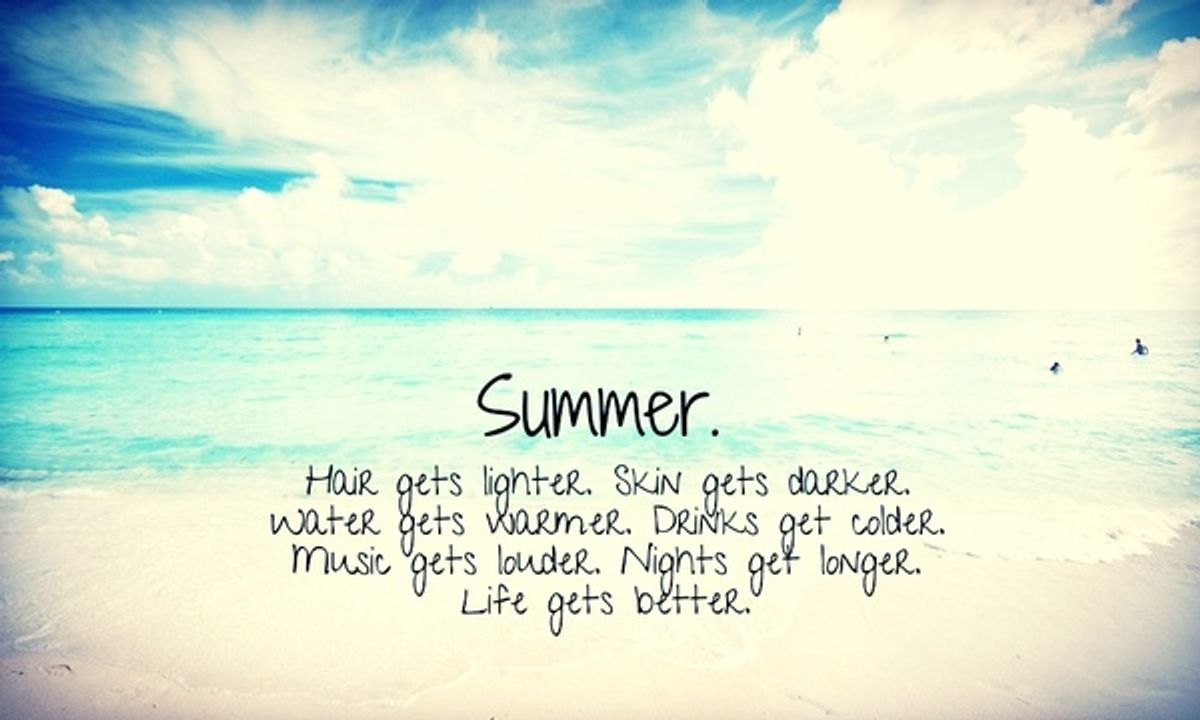 Reasons Why Summer is the Best Season
