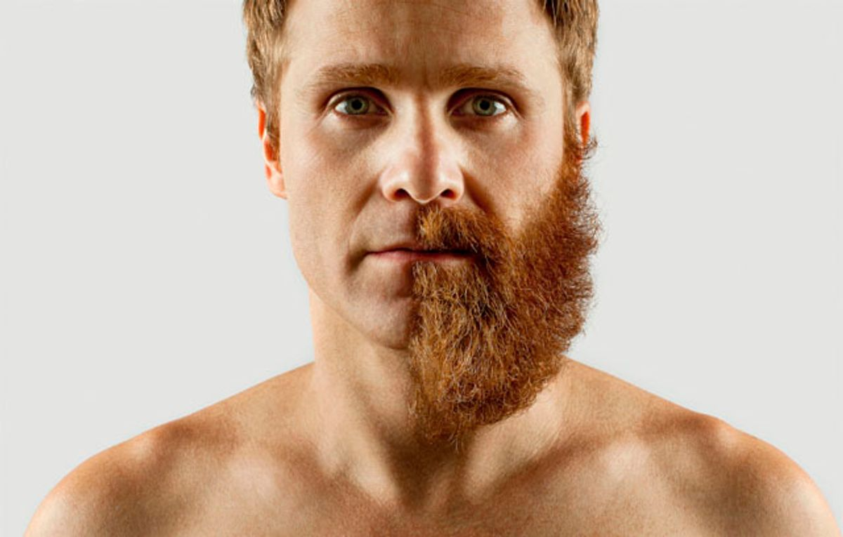 The 8 Stages Of Shaving A Beard