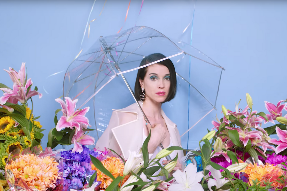 """Watch St. Vincent's Colorful, Surreal Music Video For """"New York"""""""