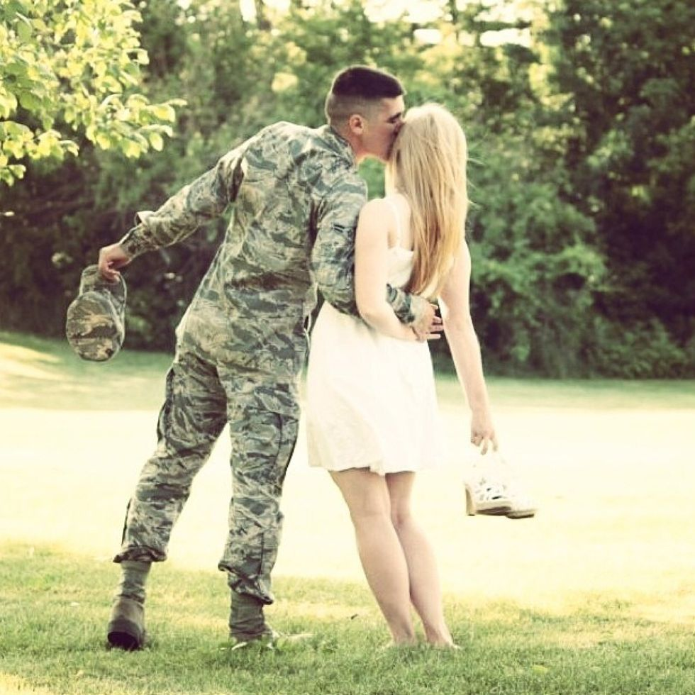 Open letter to my boyfriend in the military