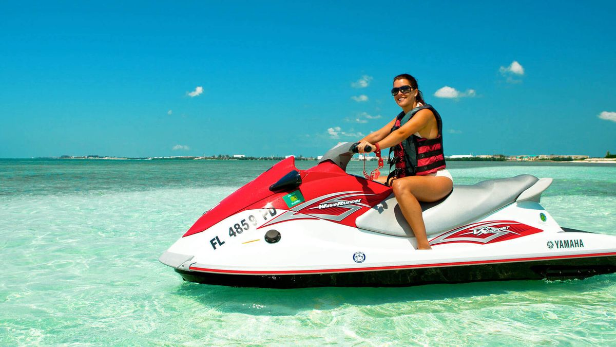 My First Time Jet Skiing