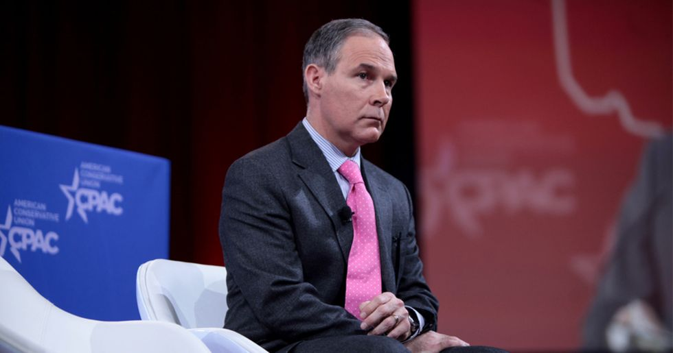 Pruitt Blasted for Advising States to Ignore Major Climate Change Regulation