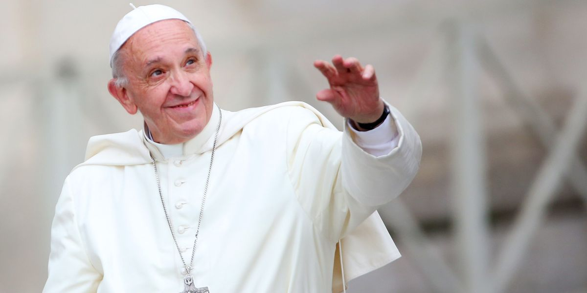 """Woke Pope Francis Says He Went to Therapy for Six Months to """"Clarify Some Things"""""""