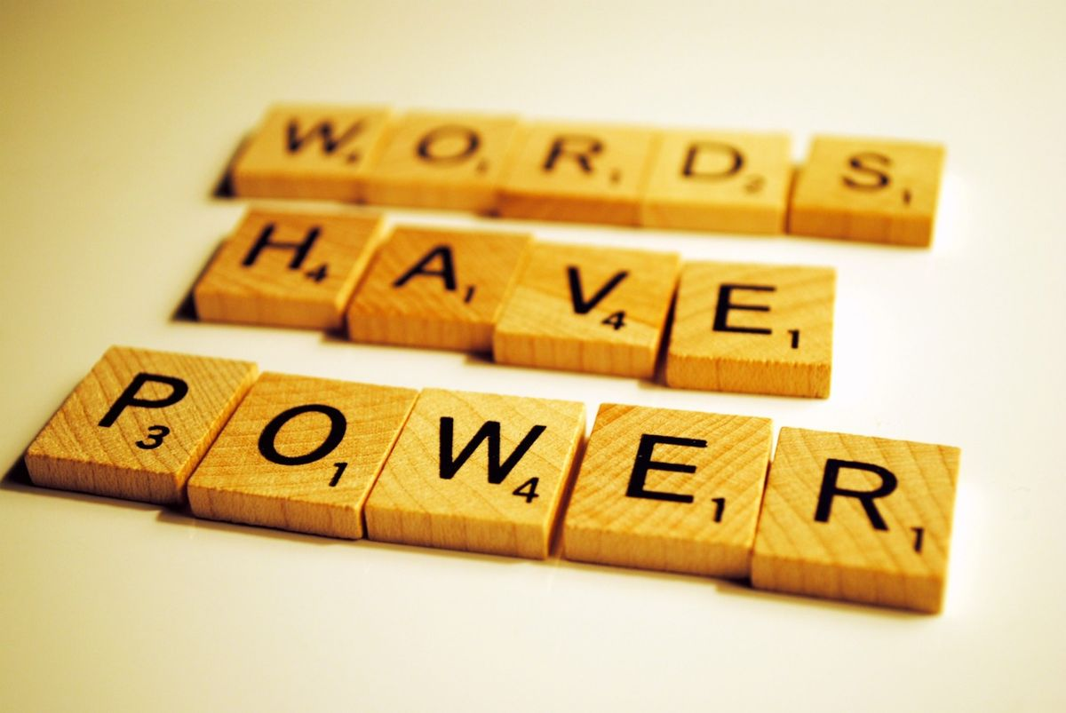 Your Words Are What Controls Your Destiny