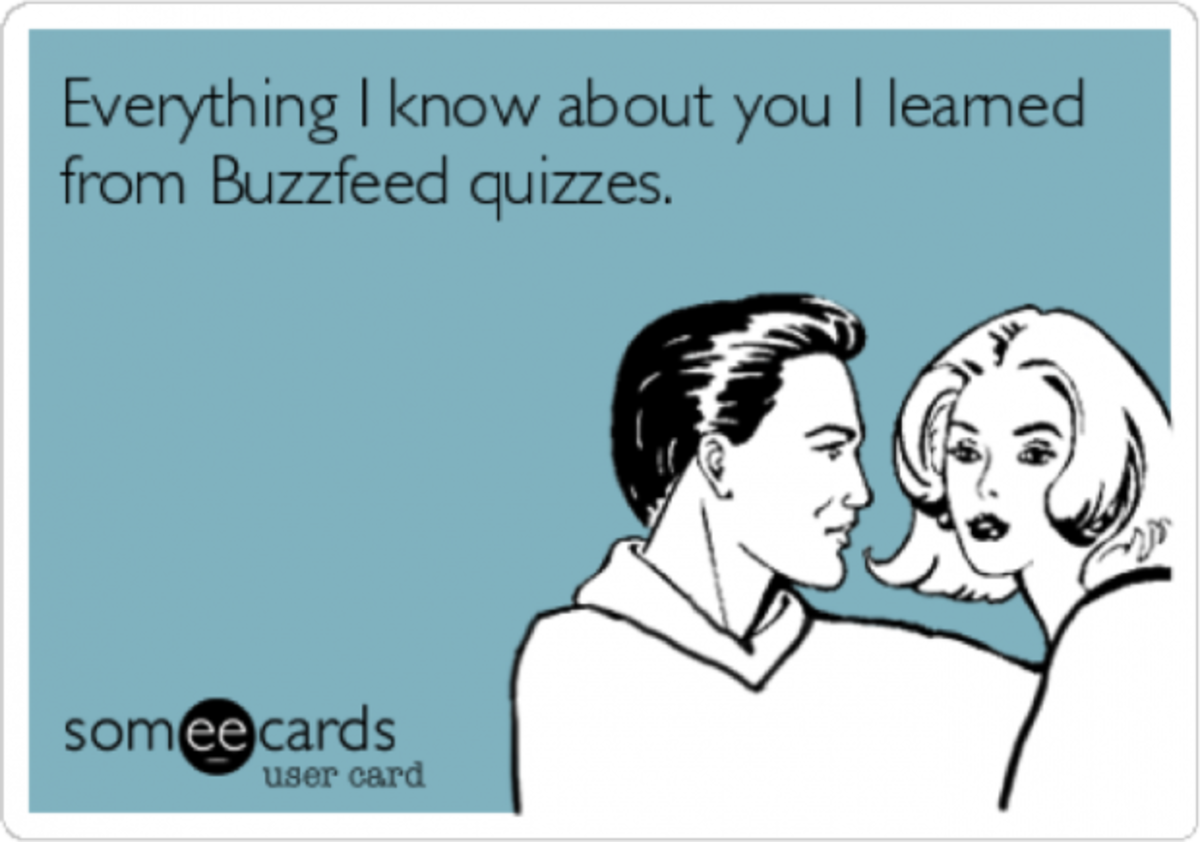 7 Buzzfeed Quizzes You Need To Take Right Now