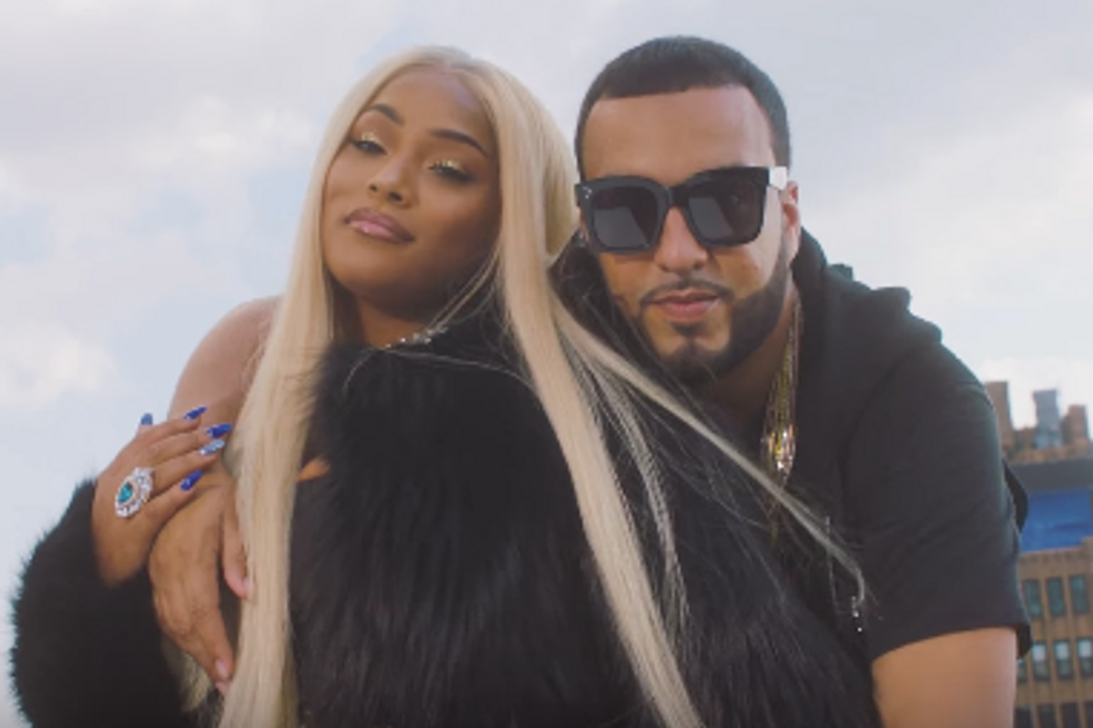 """Watch French Montana Join Stefflon Don for """"Hurtin' Me"""" Video"""