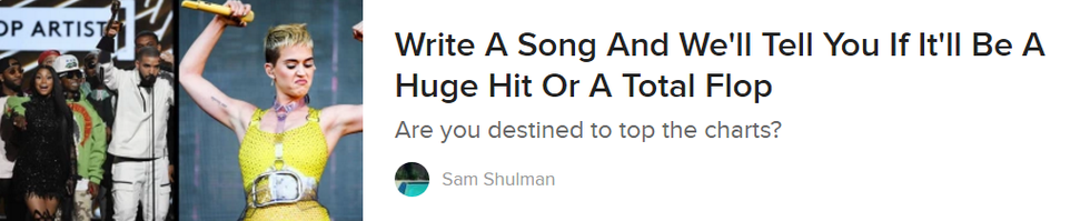 13 Buzzfeed Quizzes To Distract You While Your Life Falls To