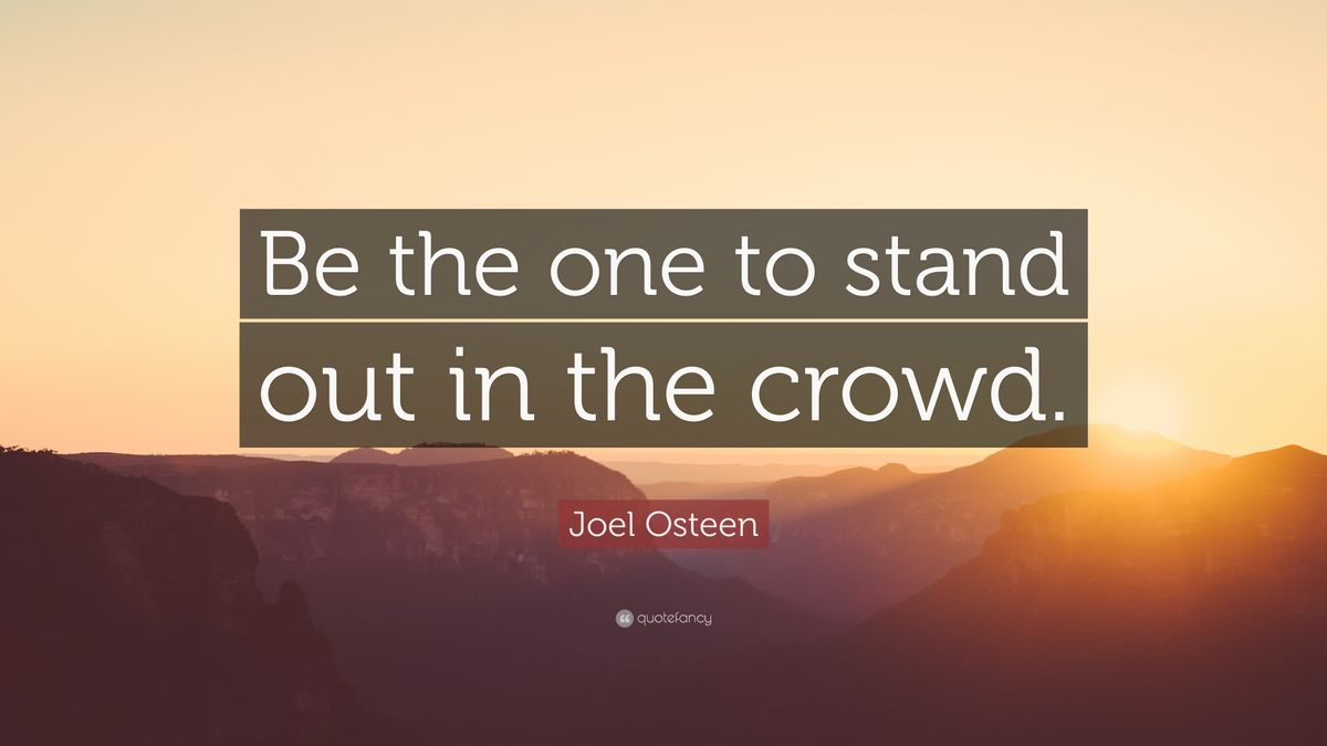 Be The One Who Stands