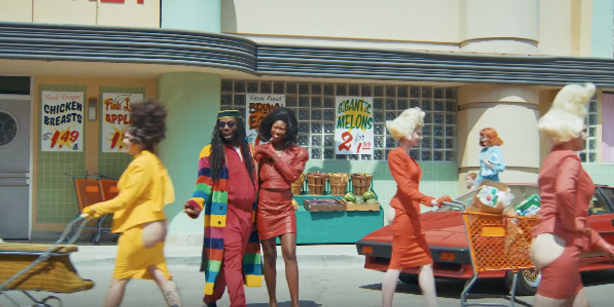 """DRAM's New """"Gilligan"""" Video Featuring A$AP Rocky and Juicy J Is All About the Ass"""