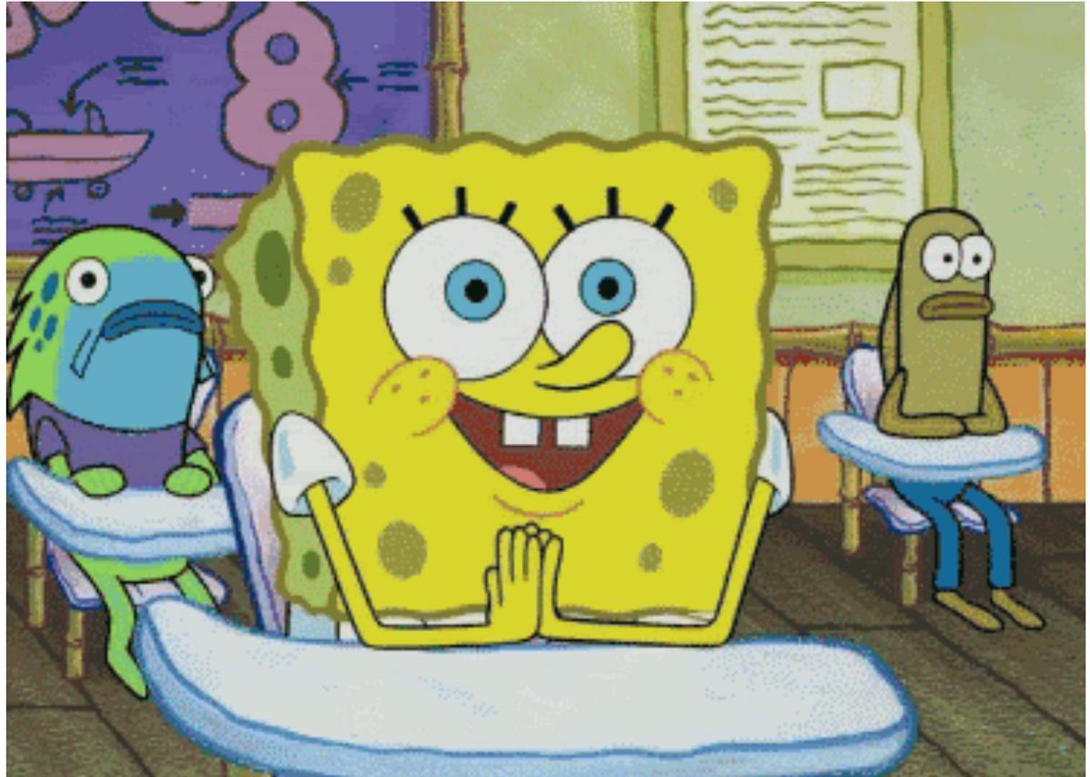 Syllabus Week: As Told By Spongebob Squarepants