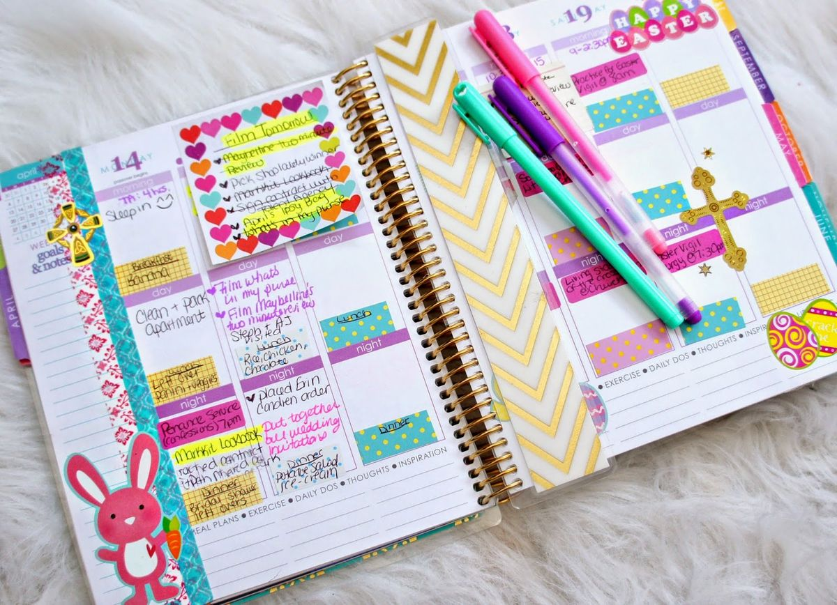 11 Ways To Bring Your Planner To The Next Level