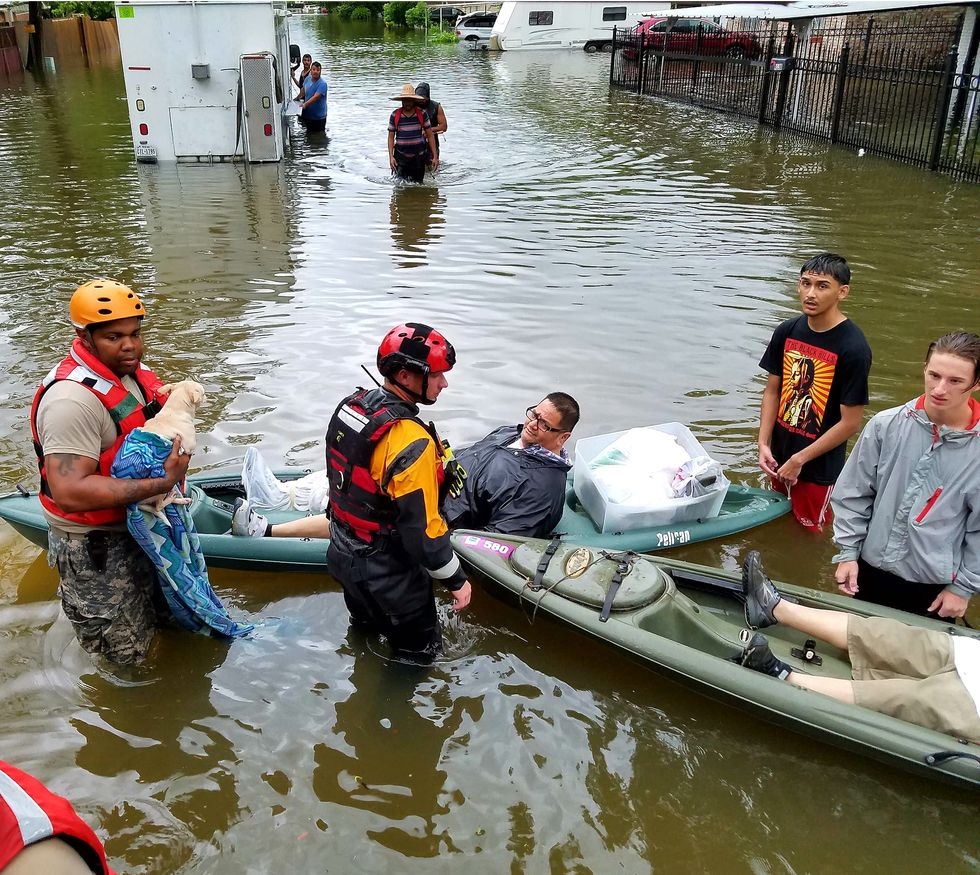 Intensity of Harvey's Devastation Linked to Warming