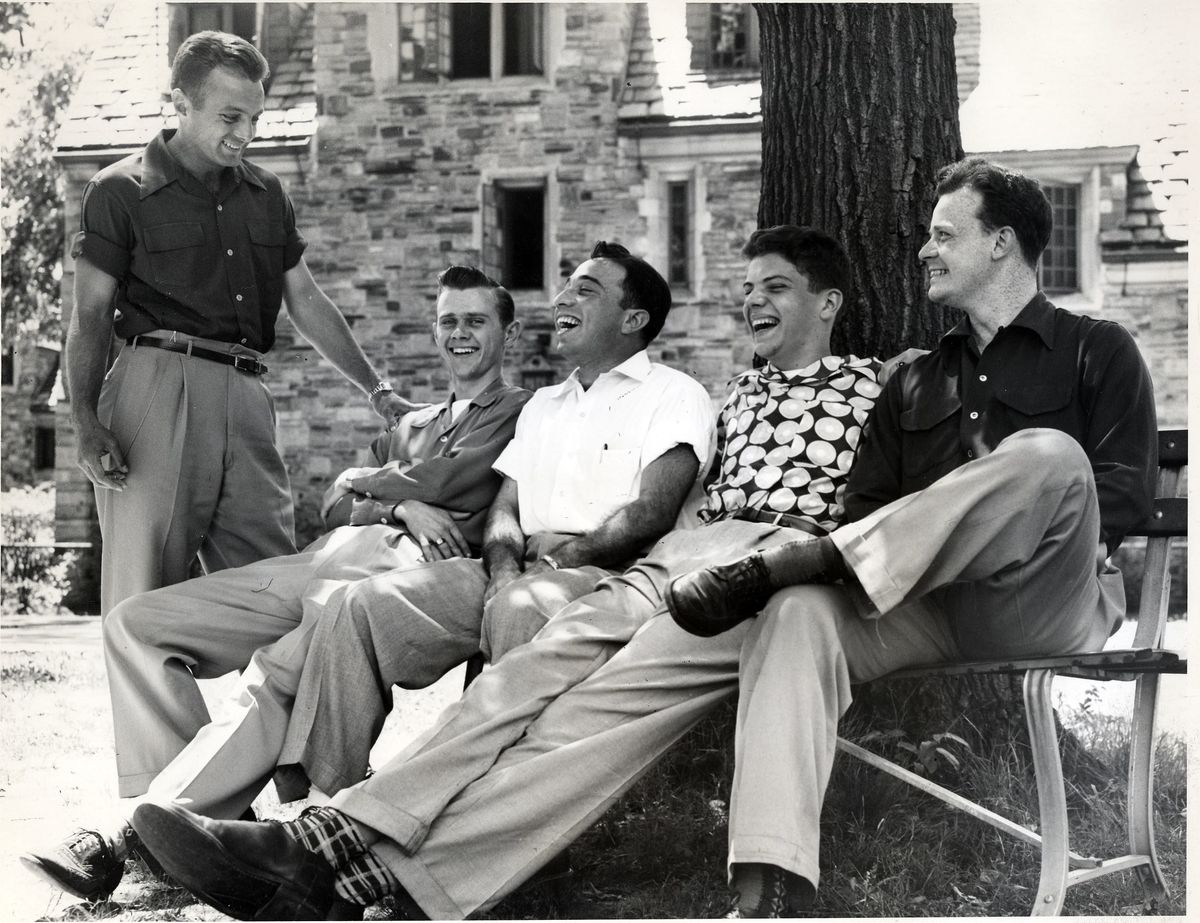 1950s mannerisms in the What It