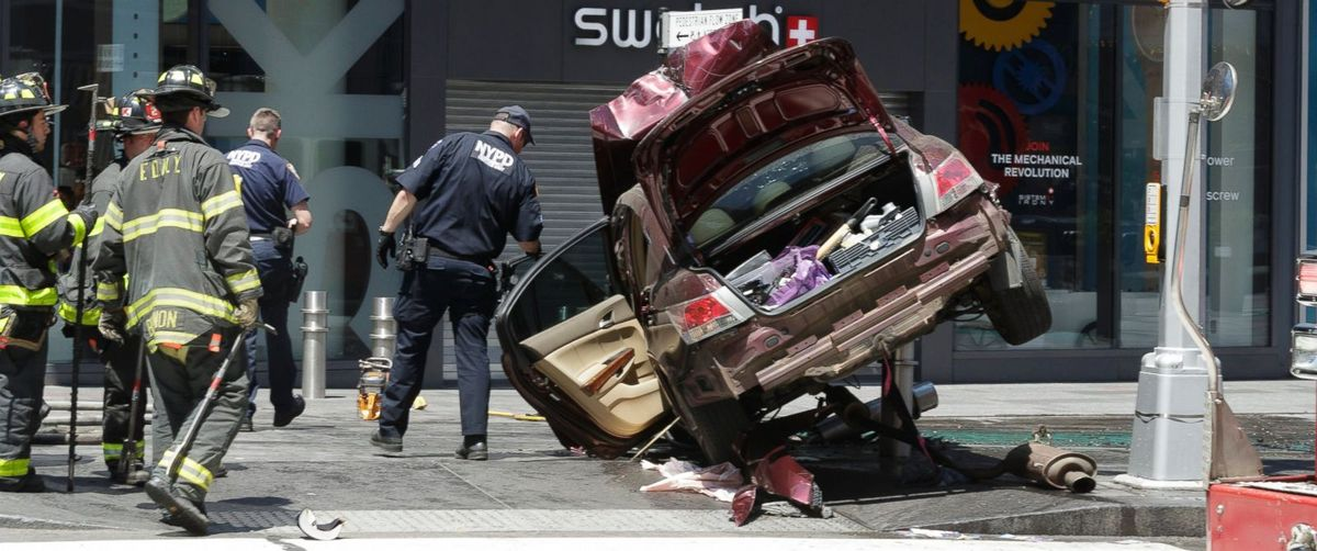 A Recap Of The Times Square Accident