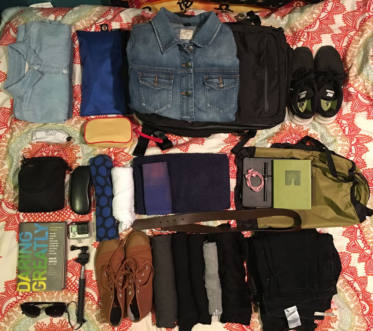 How To Pack One 35L Bag For One Week In Europe