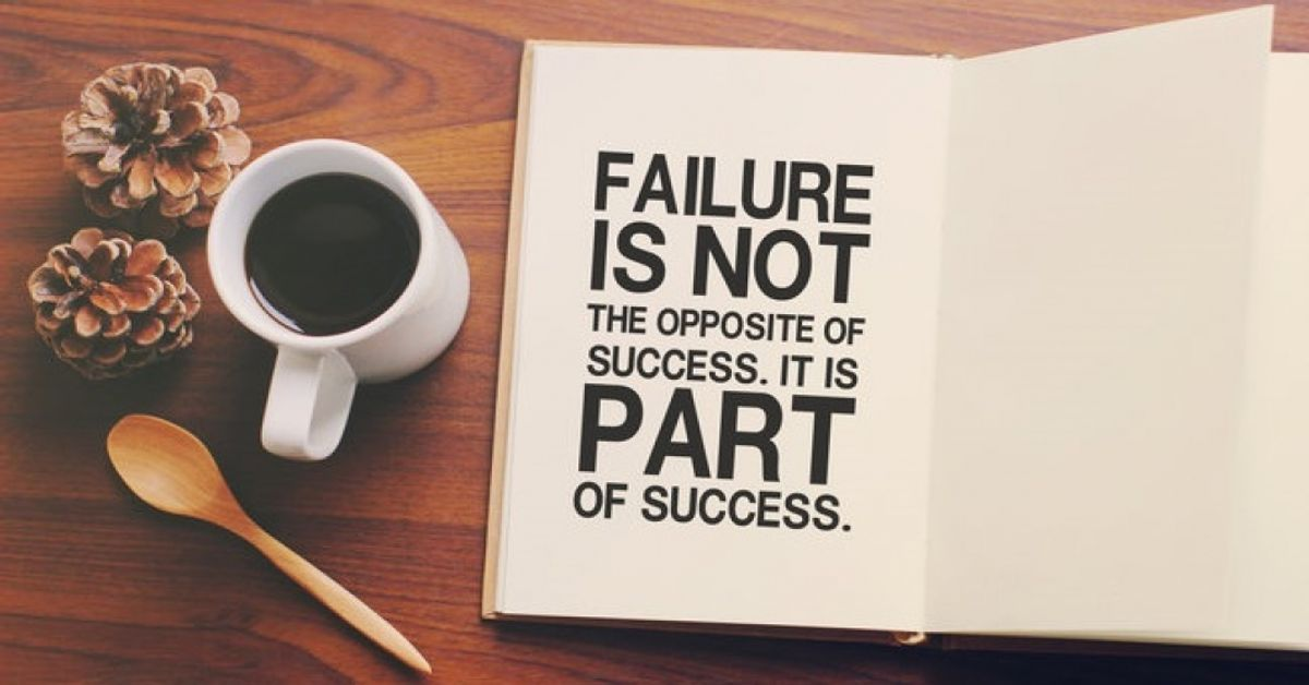 Why You Should Find The Value In Failure