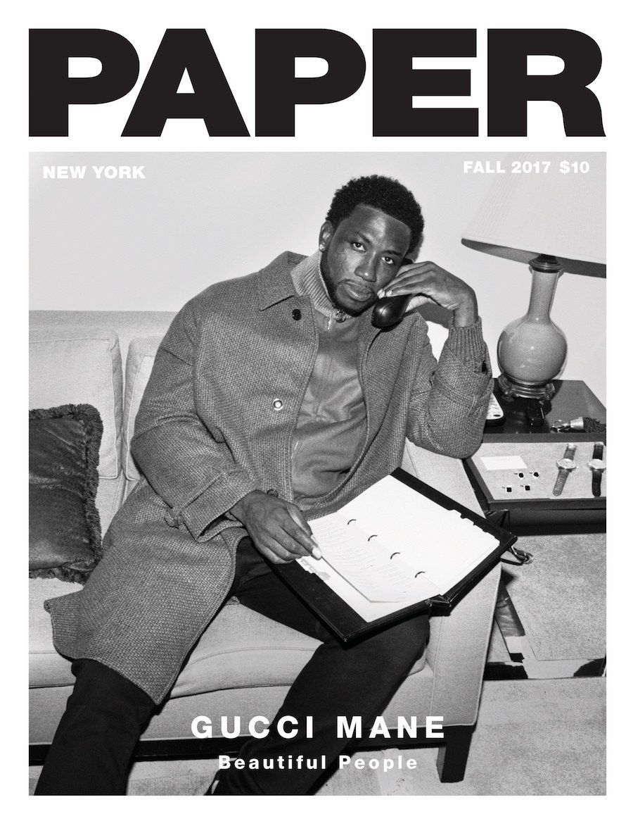 2bf670f33ce Gucci Mane Is Taking Nothing For Granted - PAPER